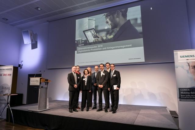 Veranstaltung DIGITALISIERTE PRODUKTION UND ANLAGENMANAGEMENT bei Siemens am 5.11.2015