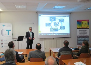 "Business-Frühstück ""Big Data by Tomo"" bei HC Solutions in Linz am 12.11.2015"